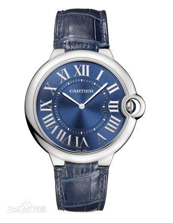 Cartier卡地亚 蓝气球陀飞轮系列 男士自动机械腕表